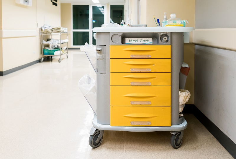 Medical Emergency Crash Cart