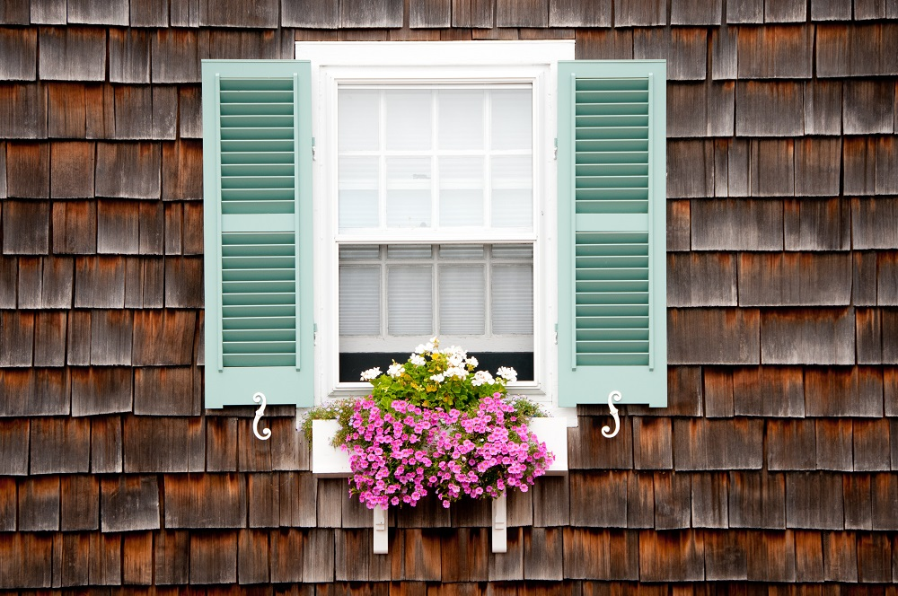 Beach Cottage Window & Flower Box