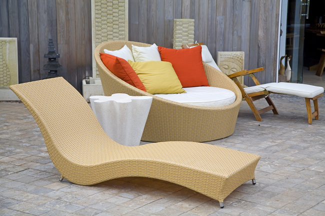 kind of outdoor furniture