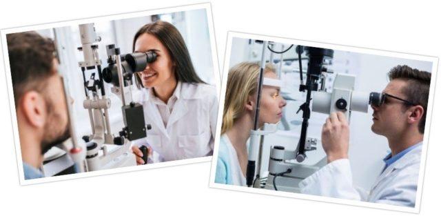 regular professional eye tests