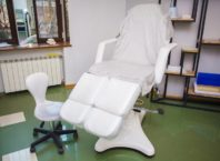 Podiatric chairs