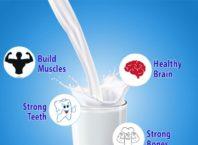 fresh organic milk