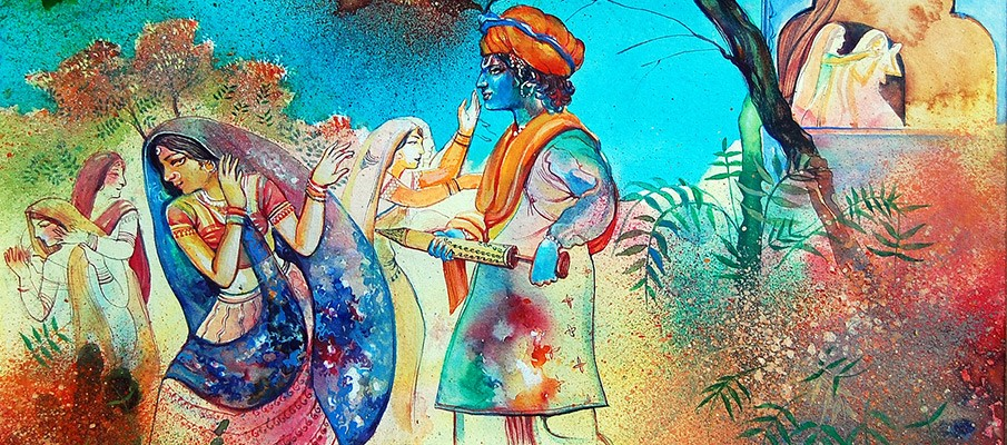 Charismatic Story behind Holi