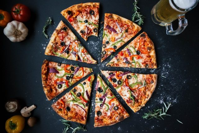 Eating Disorder - thinly sliced pizzas